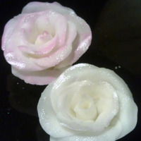 My Very First Fondant Roses my very first fondant roses