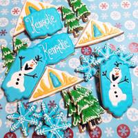 Do You Want To Build A Snowman! I am really only now starting to figure out the whole cookie thing. I haven't made any since Christmas cookies. I do not think I did...
