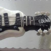 1 Of 2 Graduation Cakes For My Oldest Nieces High School Gratuation It Is A Replica Of Her Eastwood Guitar The Cake Is Mostly Buttercre 1 of 2 graduation cakes for my oldest niece's high school gratuation. It is a replica of her Eastwood guitar. The cake is mostly...