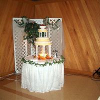 Wedding Cakes My Sister And I Have Done This one is one my sister did for her SIL & BIL's wedding. I believe it was lemon cake.