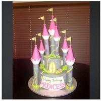 Princess Castle Cake Princess castle cake