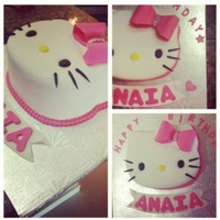 Hello Kitty Cake Hello kitty cake!