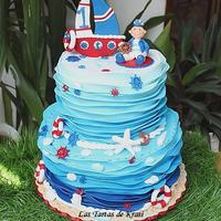 Nautical Birthday Cake nautical birthday cake