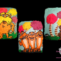 Lorax Sheet Cake Collection Lorax sheet cake collection