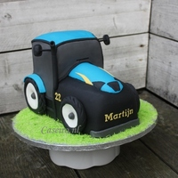 New Holland Tractor Cake Tractor cake