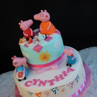 Children Birthday Cake Peppa Pig Birthday Cake.