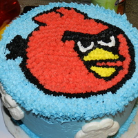 Angry Bird's Cake Nephew's 12Th & 13Th Birthday 2012 Angry Birds Cake made for my two nephews birthday :D