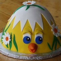 In Keeping With The Theme Of Spring I Thought Id Try My Hand At This Baby Chick Cake An Idea I Seen On This Site Cake Is Vanilla And C In keeping with the theme of Spring, I thought I'd try my hand at this Baby Chick Cake! (An idea I seen on this site). Cake is vanilla...