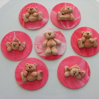 Teddy Cupcake Toppers Teddy cupcake toppers