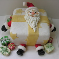 Santa Stuck In A Present This is a Karen Davies design