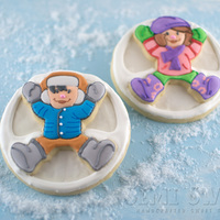 Stacking Two Layers Of Cookies Adds Dimension To These Snow Angels The How To Is On My Blog Httpwwwsemisweetdesignscom20121221Sta Stacking two layers of cookies adds dimension to these snow angels. The how-to is on my blog: http://www.semisweetdesigns.com/2012/12/21/...