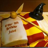 Harry Potter Cake Harry Potter cake