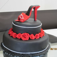 Black And Red Cake 002Jpg
