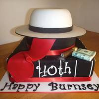 Speak Easy 1920S Gangster Themed Cake *Speak Easy 1920's Gangster Themed Cake