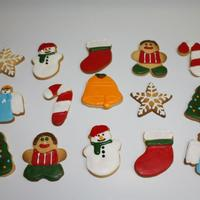 Iced Christmas Sugar Cookies Iced Christmas Sugar Cookies