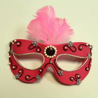 Masquerade Sugar Paste Mask Cake Topper *Masquerade Sugar paste mask cake topper