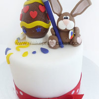 Artistic Easter Bunny Topper As many of you know, those of us who fit in cakes late into the night can sometimes find it to be a very lonely job. So it is such a...