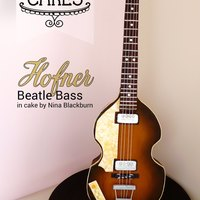 Standing Hofner Beatle Bass Cake - Paul Mccartney My husband is a muso and huge Paul McCartney fan, so when I had the opportunity to have a private guitar cake class with Verusca Walker and...