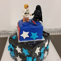 Star Wars Lego Cake I didn't have much time to make this cake or think it through, but I'm satisfied with the end result. Could it have been better,...