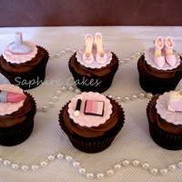 Fashion Cupcakes   set 1