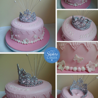 Cakes For Girls   princess 1st birthday cake