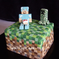 Birthday Cakes   Minecraft Cake