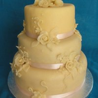 Marzipan Wedding Cake   Marzipan wedding cake