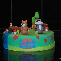 Cute Animals Birthdaycake