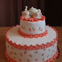 "This Cake Has Cute Written All Over It This cake has ""cute"" written all over it!"
