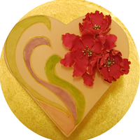 Not All Valentines Day Cakes Have To Be Red This Cake Celebrates The Vibrant Colors Of Love With A Dark Chocolate And Strawberry Inside Not all Valentine's Day cakes have to be red! This cake celebrates the vibrant colors of love, with a dark chocolate and strawberry...