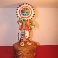 Native American Kachina Doll Cake For My Cherokee Birthday Boy 100 Edible Sculpted From Gum Paste And Fondant See Pictures Of The Entire Native American Kachina Doll cake for my Cherokee Birthday Boy. 100% edible. Sculpted from gum paste and fondant. See pictures of the...