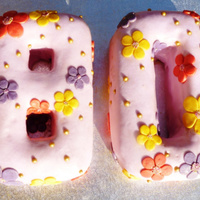 80Th Birthday Cake For My Grandma Numbers Made Using An Adjustable Alphabet And Number Cake Pan Full Details At Httpbakearamawordpres 80th birthday cake for my grandma. Numbers made using an adjustable alphabet and number cake pan.Full details at http://bakearama.wordpress...