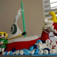 Legend Of Zelda I Got The Idea From A Cake That I Saw Online By Nerdache Cakes She Is Amazing And She Has Great Tutorials   Legend of Zelda. I got the idea from a cake that I saw online by nerdache cakes. She is amazing and she has great tutorials.