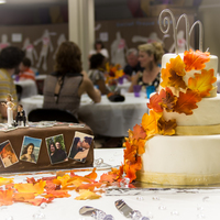 Fall Wedding And Grooms Cake