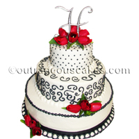 3 Tier Wedding Cake 3 tier wedding cake