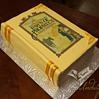 "Pawn Of Prophecy Fantasy Novel Closed Book Cake ""Pawn of Prophecy"" Fantasy Novel Closed Book Cake"