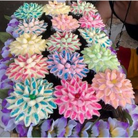 Basket Of Assorted Flower Cupcakes i made this for my friends mom on mothers day