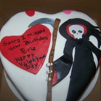 Wife Had A Sense Of Humor And Wanted A Grim Reaper On A Cake   Wife had a sense of humor and wanted a Grim Reaper on a cake.