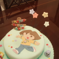 Birthday Cakes   Dora the explorer