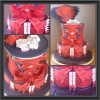 A Gorgeous In Your Face Y Burlesque Cake I Really Really Want To Do Another One A gorgeous in your face ***y burlesque cake. I really really want to do another one!!