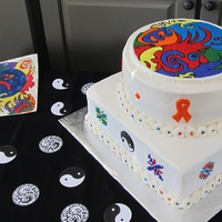 Made This Cake For 14 Yr Old Girl Friend Of My Son Who Was Celebrating Being In Remission From Leukemia She Created The Abstract Artwork Made this cake for 14 yr. old girl (friend of my son) who was celebrating being in remission from Leukemia. She created the abstract...