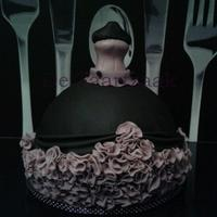 Ball Gown Cake Ball gown cake