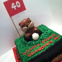 Milestone Birthdays Caddyshack 40th Birthday Cake...