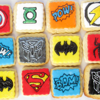 Super Hero Cookies Super Hero Cookies