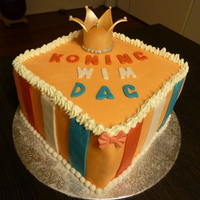 Koning Cake  A cake made for someone, who was born precisely on April 30th. That is a public holiday in honor of the previous queen's birthday in...