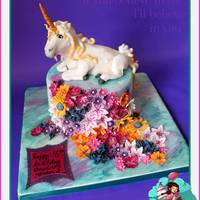 Mystical Unicorn X Magical Unicorn x ....who doesn't like Unicorns? combined with cake and you've got something pretty magical, All made out of...