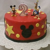 Mickey Mouse And Friends 2Nd Birthday Cake Mickey Mouse and friends 2nd birthday cake
