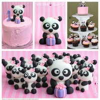 1St Birthday Panda Cupcakes And Smash Cake   1st Birthday Panda Cupcakes and Smash Cake inspired by McGreevy Cakes
