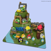 Angry Birds Angry Birds cake, based on Shereen's Cakes and Bakes' cake