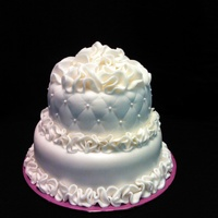 This Is A Test Cake I Loved Doing This Ruffle Effect This is a test cake. I loved doing this ruffle effect!